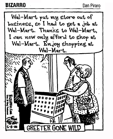 wal mart good or bad for consumers News about wal-mart stores inc commentary and archival information about wal-mart stores inc from the new york times.